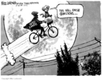 Cartoonist Mike Luckovich  Mike Luckovich's Editorial Cartoons 2006-08-03 bicycle