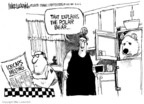 Cartoonist Mike Luckovich  Mike Luckovich's Editorial Cartoons 2006-08-04 rights