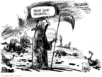 Cartoonist Mike Luckovich  Mike Luckovich's Editorial Cartoons 2006-09-22 Iraq sectarian violence