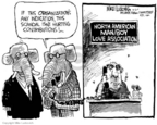Cartoonist Mike Luckovich  Mike Luckovich's Editorial Cartoons 2006-10-03 organization