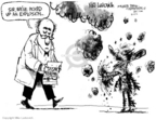 Cartoonist Mike Luckovich  Mike Luckovich's Editorial Cartoons 2006-10-11 North Korea