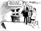 Cartoonist Mike Luckovich  Mike Luckovich's Editorial Cartoons 2006-11-24 civil war
