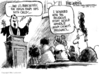 Cartoonist Mike Luckovich  Mike Luckovich's Editorial Cartoons 2006-12-07 lesbian