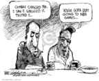 Cartoonist Mike Luckovich  Mike Luckovich's Editorial Cartoons 2006-12-21 basketball