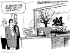 Cartoonist Mike Luckovich  Mike Luckovich's Editorial Cartoons 2006-12-30 labor