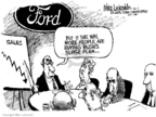 Cartoonist Mike Luckovich  Mike Luckovich's Editorial Cartoons 2007-01-26 surge