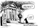 Cartoonist Mike Luckovich  Mike Luckovich's Editorial Cartoons 2007-02-16 bone