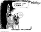 Cartoonist Mike Luckovich  Mike Luckovich's Editorial Cartoons 2007-03-06 conservative media