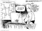 Cartoonist Mike Luckovich  Mike Luckovich's Editorial Cartoons 2007-03-13 basketball