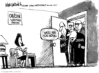 Cartoonist Mike Luckovich  Mike Luckovich's Editorial Cartoons 2007-04-19 supreme court decision