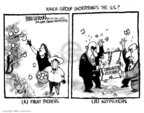 Cartoonist Mike Luckovich  Mike Luckovich's Editorial Cartoons 2007-05-24 fruit tree
