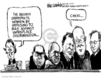 Cartoonist Mike Luckovich  Mike Luckovich's Editorial Cartoons 2007-06-03 equal rights