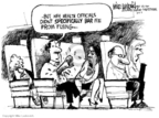 Cartoonist Mike Luckovich  Mike Luckovich's Editorial Cartoons 2007-06-05 travel