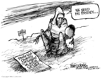 Cartoonist Mike Luckovich  Mike Luckovich's Editorial Cartoons 2007-07-27 circle