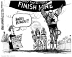 Cartoonist Mike Luckovich  Mike Luckovich's Editorial Cartoons 2007-07-28 bicycle