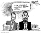 Cartoonist Mike Luckovich  Mike Luckovich's Editorial Cartoons 2007-07-31 punishment
