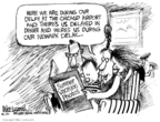 Cartoonist Mike Luckovich  Mike Luckovich's Editorial Cartoons 2007-08-07 summer vacation