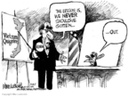 Cartoonist Mike Luckovich  Mike Luckovich's Editorial Cartoons 2007-08-23 Vietnam