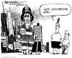 Cartoonist Mike Luckovich  Mike Luckovich's Editorial Cartoons 2007-09-04 Rudy Giuliani