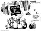 Cartoonist Mike Luckovich  Mike Luckovich's Editorial Cartoons 2007-09-07 economy