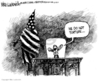 Cartoonist Mike Luckovich  Mike Luckovich's Editorial Cartoons 2007-10-05 war on terror