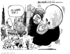 Cartoonist Mike Luckovich  Mike Luckovich's Editorial Cartoons 2007-11-20 Rudy Giuliani