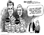 Cartoonist Mike Luckovich  Mike Luckovich's Editorial Cartoons 2007-12-11 Mike Huckabee