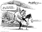 Cartoonist Mike Luckovich  Mike Luckovich's Editorial Cartoons 2007-12-14 baseball