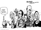 Cartoonist Mike Luckovich  Mike Luckovich's Editorial Cartoons 2008-01-11 Rudy Giuliani