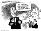 Cartoonist Mike Luckovich  Mike Luckovich's Editorial Cartoons 2008-01-17 Rudy Giuliani