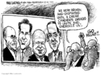 Cartoonist Mike Luckovich  Mike Luckovich's Editorial Cartoons 2008-01-27 Rudy Giuliani
