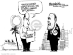 Cartoonist Mike Luckovich  Mike Luckovich's Editorial Cartoons 2008-01-30 Rudy Giuliani