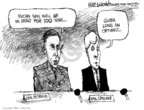 Cartoonist Mike Luckovich  Mike Luckovich's Editorial Cartoons 2008-04-10 Congress and Iraq