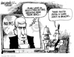 Cartoonist Mike Luckovich  Mike Luckovich's Editorial Cartoons 2008-04-30 Iraq