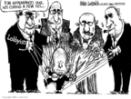 Cartoonist Mike Luckovich  Mike Luckovich's Editorial Cartoons 2008-05-20 John McCain