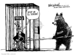 Cartoonist Mike Luckovich  Mike Luckovich's Editorial Cartoons 2008-08-20 Iraq