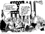 Cartoonist Mike Luckovich  Mike Luckovich's Editorial Cartoons 2008-08-21 transfer