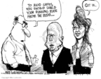 Cartoonist Mike Luckovich  Mike Luckovich's Editorial Cartoons 2008-09-12 John McCain