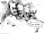 Cartoonist Mike Luckovich  Mike Luckovich's Editorial Cartoons 2008-10-02 Richard Nixon