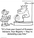 Cartoonist Rex May  Rex May Gag Cartoons 2009-03-26 economic demand