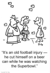 Cartoonist Rex May  Rex May Gag Cartoons 2007-03-08 football