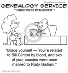 Cartoonist Rex May  Rex May Gag Cartoons 2008-01-11 Bill Clinton