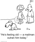 Cartoonist Rex May  Rex May Gag Cartoons 2007-03-08 mailman