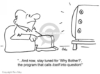 Cartoonist Rex May  Rex May Gag Cartoons 2007-05-02 television viewer
