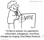 Cartoonist Rex May  Rex May Gag Cartoons 2008-07-31 voter