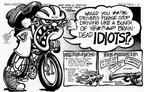 Cartoonist Nina Paley  Nina's Adventures 1990-08-00 bicycle