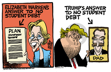 Image result for elizabeth warren comics