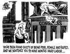 Cartoonist Mike Peters  Mike Peters' Editorial Cartoons 1988-04-08 legislation