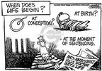 Cartoonist Mike Peters  Mike Peters' Editorial Cartoons 1993-09-03 convict