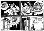 Cartoonist Mike Peters  Mike Peters' Editorial Cartoons 2003-01-06 skill
